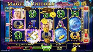 Magic Unicorn slots - 491 win!