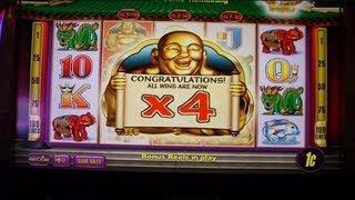 Laughing Fortune Slot Machine  Free Spins Bonus Round Win