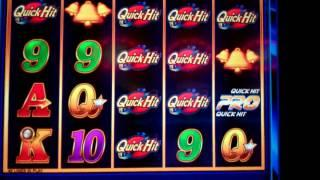 Quick Hits Pro Slot Machine - 9 Quick Hit Symbols - BIG WIN