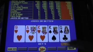 IGT Video Poker - 10 cent Denomination $10 Challenge