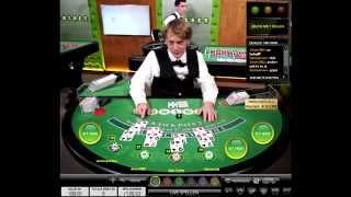 Live Casino Dealer puts his OWN SHOE on the table while doing a shoe change! Must see LOL!