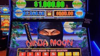 LiVe! Dollar Storm Ninja Moon with KCSlotChannel @Choctaw Casino