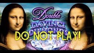 Double DaVinci Diamonds - do not play - bad followup of original DaVinci - Slot Machine Bonus