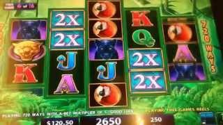 •Not giving up ! •Prowling Panther Slot machine (IGT)•  BIG BONUS WIN $2.50 Bet