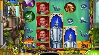 WIZARD OF OZ: AS GOOD AS GOLD! Video Slot Game with a FREE SPIN BONUS