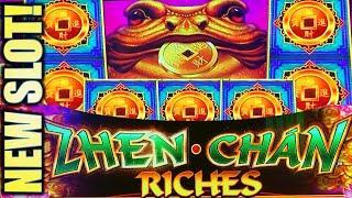 •NEW SLOT! • ZHEN CHAN RICHES• SHOW ME THE COINS!! Slot Machine Bonus (SG)