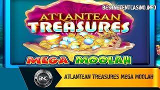 Atlantean Treasures Mega Moolah slot by Neon Valley Studios