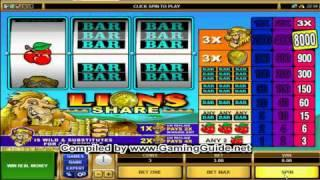 All Slots Casino's Lions Share Classic Slots