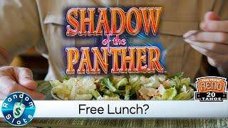 Shadow of the Panther Slot Machine and a Free Lunch