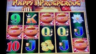 SUPER RARE 5 SYMBOL BONUS TRIGGER DRAGON LINK HAPPY & PROSPEROUS (3) HANDPAYS & MAJOR JACKPOT SLOT
