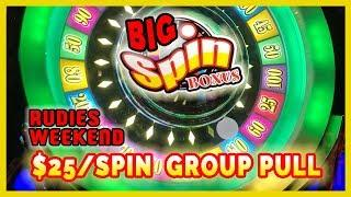 •$25/SPIN GROUP SLOT PULL •Cash SPIN • •RUDIES Weekend 2018 Video • Brian Christopher Slots