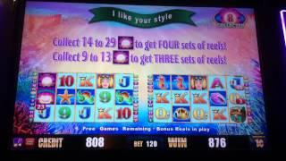Slot machine More Pearls Bonus Game