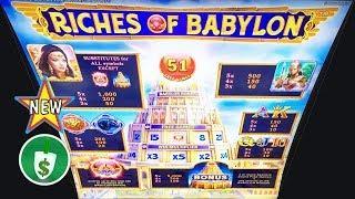 •️ New - Riches of Babylon slot machine, bonus