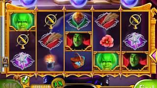 WIZARD OF OZ: GOOD OR WICKED Video Slot Game with a FREE SPIN BONUS