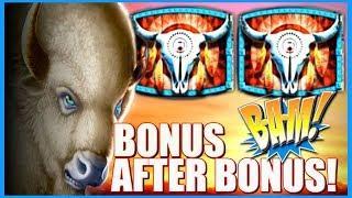• Double Buffalo Spirit • INCREDIBLE BONUS! • It Just Kept Going | Slot Traveler