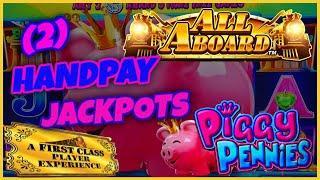 ⋆ Slots ⋆NEW SLOT HIGH LIMIT All Aboard ⋆ Slots ⋆ Piggy Pennies (2) HANDPAY JACKPOT ⋆ Slots ⋆️Moon R