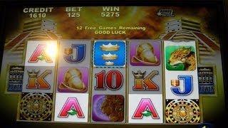 Inca Fortune JACKPOT REEL POWER Free Spins Bonus Round With Retrigger - Slot Machine