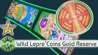 •️ New - Wild Lepre'Coins Gold Reserve slot machine, bonus