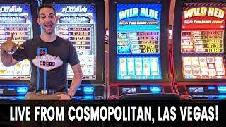 • LIVE from Cosmopolitan with MARCO • LAS VEGAS SLOTS with BCSlots #AD