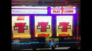 Free Play $270 Double  Bucks  Dollar  Slot  Machine Max bet $3 San Manuel Casino Akafujislot
