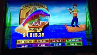 Catch the Big One 2 (max bet bonus)- *HUGE & VERY RARE WIN!*