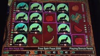 Coyote Moon High Limit Slot biggest Jackpot Handpay Payout  Bonus Big Win Slots Big Win