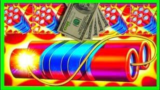 EXPLODING WITH BIG WINS! Eureka Reel Blast SLOT MACHINE Bonuses With SDGuy1234