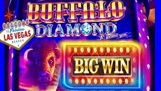 BUFFALO DIAMOND•BIG WIN!! DOWNTOWN LAS VEGAS•WITH THE BOYZ!
