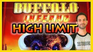 •NEW *HIGH LIMIT* BUFFALO Inferno Slot Machines • Brian Christopher Slots