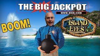 • 3 BONUS ROUNDS on ISLAND EYES •  w/ The Big Jackpot