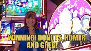 •DONUTS FOR THE WIN •️THE SIMPSONS SLOT MACHINE