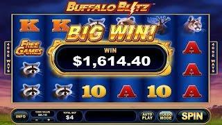 Buffalo Blitz Online Slot from Playtech •