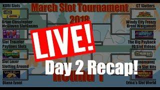•ROUND#1 • DAY 2 LIVE RECAP  • #MarchMadness2018 #Slots
