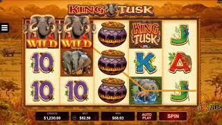 King Tusk Slot Features & Game Play - by Microgaming