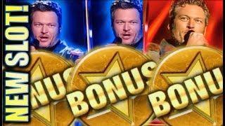 •NEW SLOT! LET'S GET WILD!• BLAKE SHELTON (IGT) Slot Machine Bonus