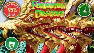 Forbidden Dragons 95% payback slot machine, Nice Bonus