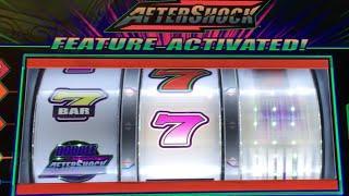 AFTER SHOCK Redemption?  •LIVE PLAY•  Slot Machine at Harrahs SoCal