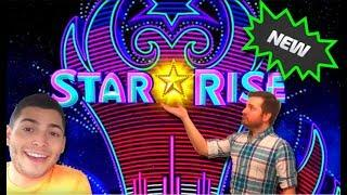 • Nate and SDGuy Take on A New Slot • Star Rise • Slot Machine Live Play and Bonus