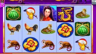 "GAME OF DRAGONS Video Slot Casino Game with a ""BIG WIN"" FREE SPIN BONUS"