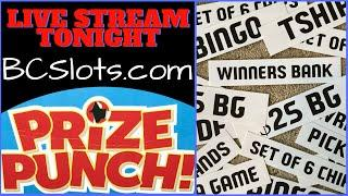•LIVE •️ Prize Punch Game • Casino N' Brian Christopher Slots Chat