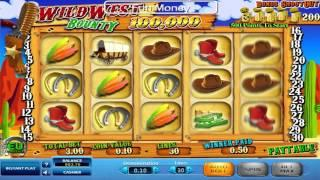 """Wild West Bounty• online slot by Skill On Net video preview"""""""