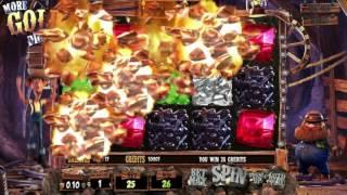 More Gold Diggin'• free slots machine by BetSoft preview at Slotozilla.com