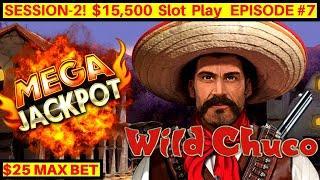 Lightning Link Wild Chuco Slot •HUGE HANDPAY JACKPOT•| Lightning Link Slot MEGA Win |SE2 Episode #7