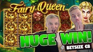 Fairy Queen BIG WIN - 8 euro bet - Big win from Casino LIVE stream