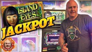 BIG BONUS HITS on Island Eyes •️Bonus Golden Goddess JACKPOT! | The Big Jackpot
