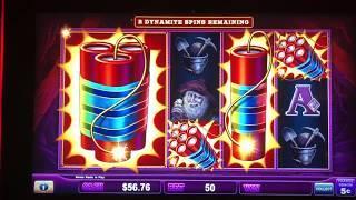 Lock It Link Eureka Dynamite Blast Spins Feature