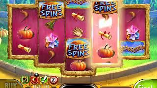 "WIZARD OF OZ: SCARECROW Video Slot Game with an ""EPIC WIN"" RETRIGGERED FREE SPIN BONUS"