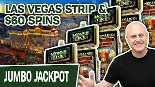 ⋆ Slots ⋆ $60 Per Spin in LAS VEGAS ⋆ Slots ⋆ Money Link Brings Me a HANPDAY