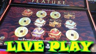 COOL Jackpot Feature 5 DRAGONS RAPID Live Play Episode 99 $$ Casino Adventures $$