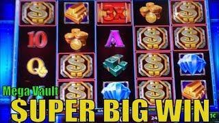 •$UPER BIG WIN•Mega Vault Slot machine (IGT) Forever !! $$$$ My BD's Mega Vault @Barona $$$$•彡栗スロット